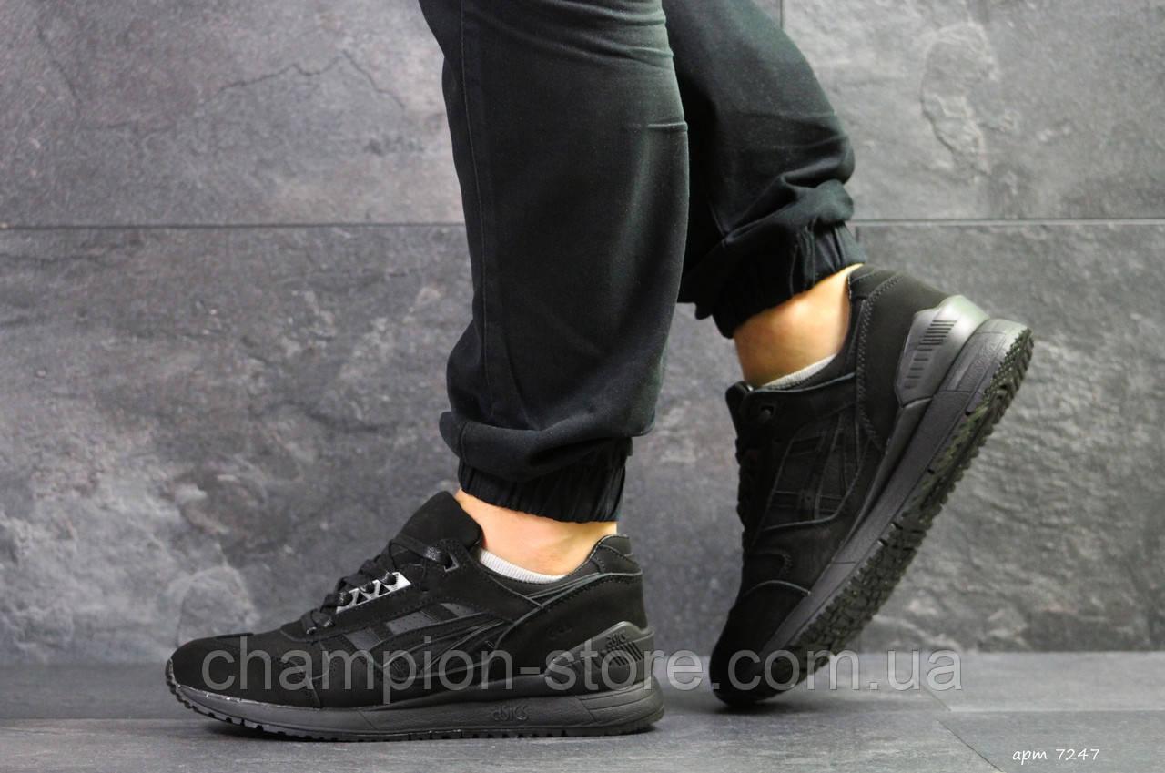 72ae10bfed5 Кроссовки мужские черные Asics Gel, мужские кроссовки Асикс (Реплика) -  Champion-store