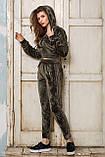 Женский спортивный костюм из бархата №537, фото 5