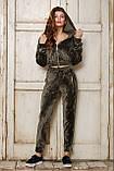 Женский спортивный костюм из бархата №537, фото 6