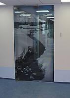 Стеклянные двери ( распашные, раздвижные)