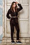 Женский спортивный костюм из бархата №537, фото 7