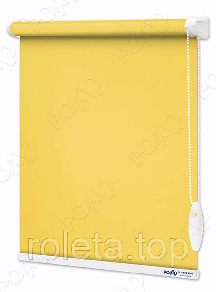 Ролети Тканинні Каміла Яскраво-жовті