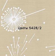 Рулонні штори відкритого типу Квіти (м.кв.) 5428/2