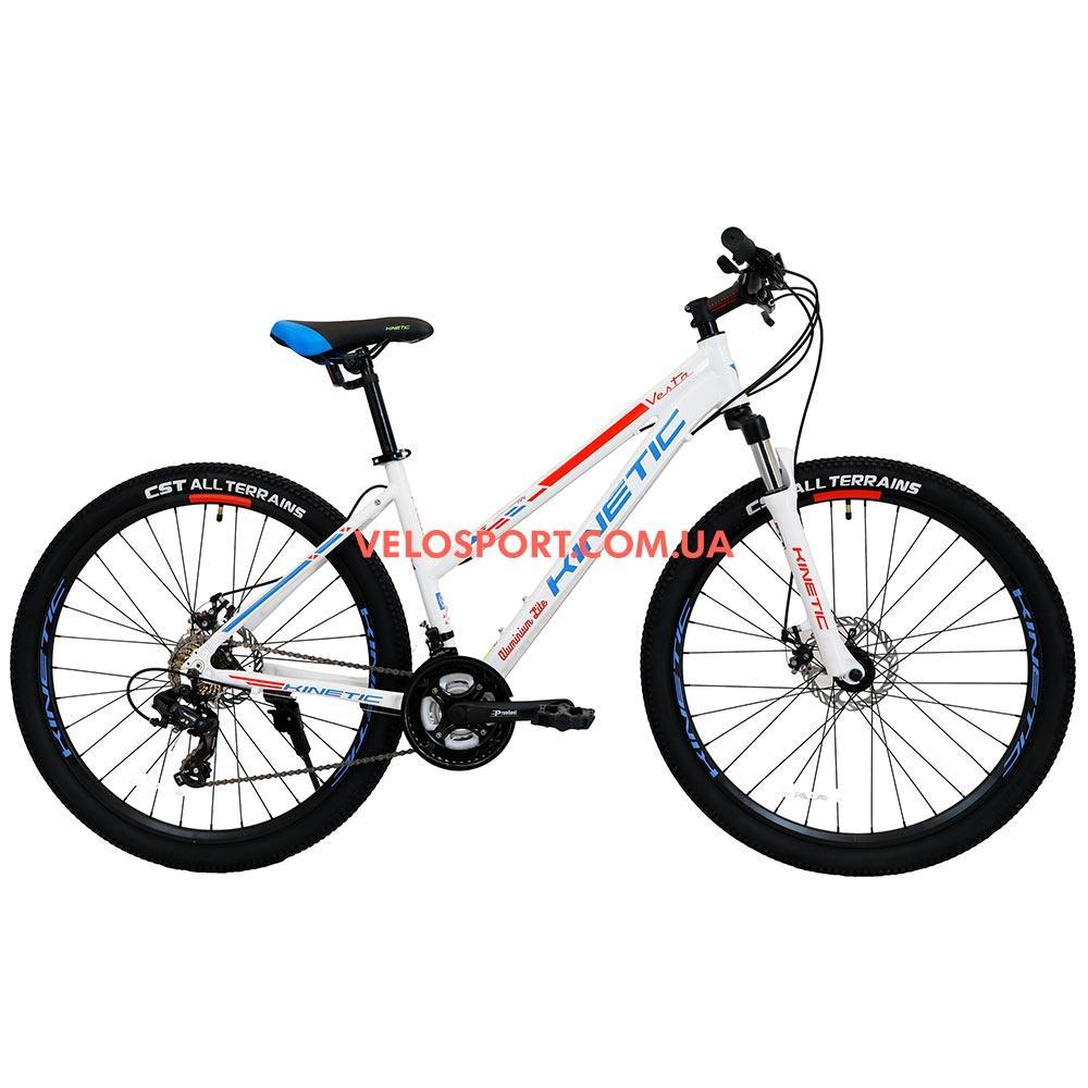 """Горный велосипед Kinetic Vesta 27.5 дюймов 15,5"""" белый"""