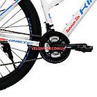"""Горный велосипед Kinetic Vesta 27.5 дюймов 15,5"""" белый, фото 5"""