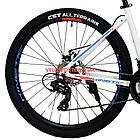 """Горный велосипед Kinetic Vesta 27.5 дюймов 15,5"""" белый, фото 6"""