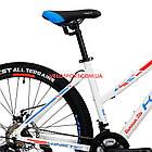 """Горный велосипед Kinetic Vesta 27.5 дюймов 15,5"""" белый, фото 4"""