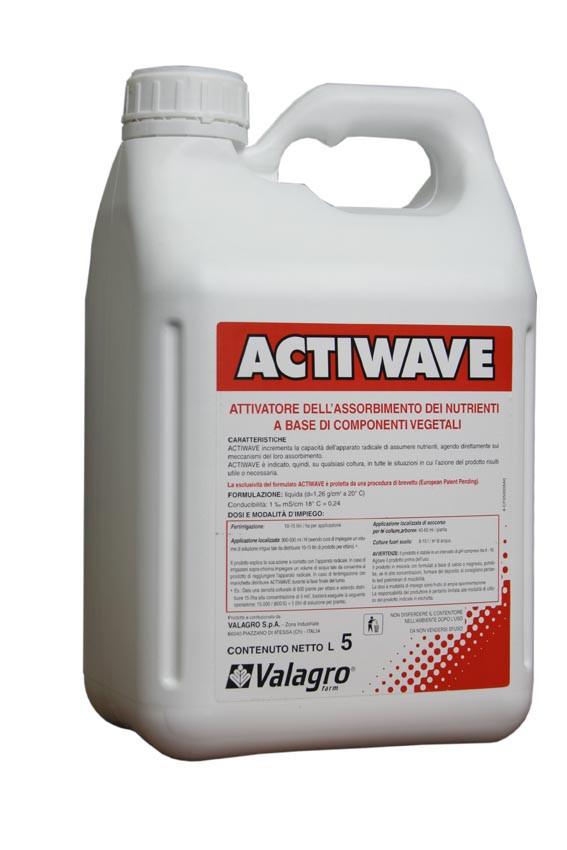 Стимулятор роста растений Actiwave Valagro - 5 л