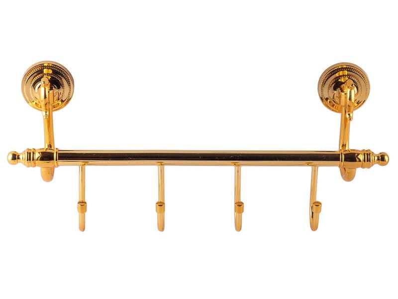 Планка з 4-ма гачками KUGU Versace Antique золото
