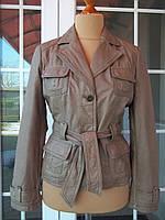 (44/46р) ORSAY Кожаная женская куртка пиджак Германия