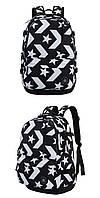 Рюкзак Converse Go Backpack (Black/White), фото 1