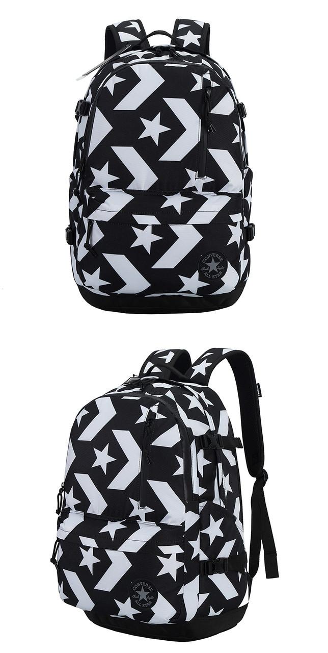 a8b33d038bd9 Рюкзак Converse Go Backpack (Black White)  продажа