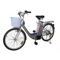 Легкий городской велосипед с электромотором Skybike Eco