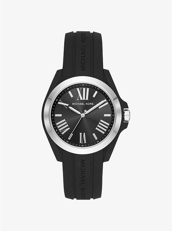 Часы Michael Kors Bradshaw Silver-Tone and Silicone MK2729