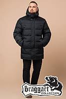 Мужская стильная куртка большого размера 37762, графитовая