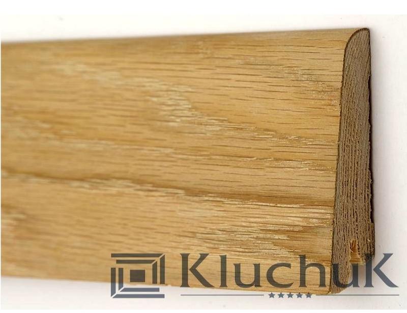 Плинтус Kluchuk Рустик KLR60-01 Дуб Шлифованный 60мм