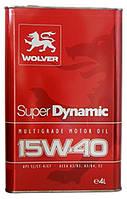 Моторное масло Wolver SUPER DYNAMIC 15W-40 4л