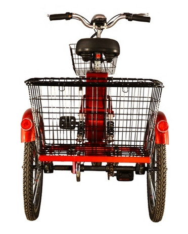 Легкий міський велосипед з електромотором Skybike З-Cycl (трицикл)