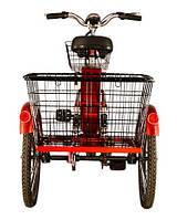 Легкий городской велосипед с электромотором Skybike З-Cycl (трицикл)