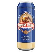 Пиво SMADNY MNICH. Светлое 0,5 л