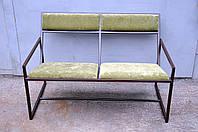 Диван садовый на металлическом каркасе, фото 1