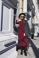 Женское платье миди с расклешенной юбкой, фото 1