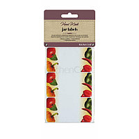 HM Наклейки для банок с вареньем и консервацией 30 единиц - Овощи