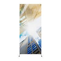 Рекламная конструкция, X-баннер паук, 0.75 х 1.75 м, серый (CXB-C1)
