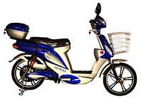 Легкий двухместный электровелосипед для города Skybike Picnic 3