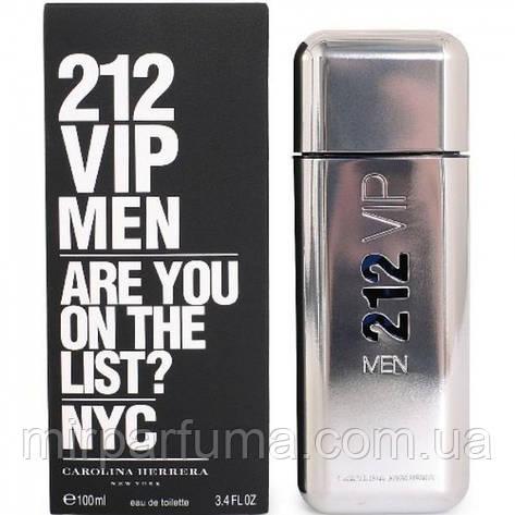 Парфюм мужской Carolina Herrera 212 VIP Men eau de toilette 100 ml, фото 2