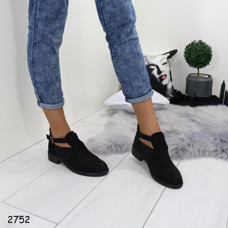 Женские туфли ткань эко замша+резина каблук 3см подошва 1см высота от пола 12см
