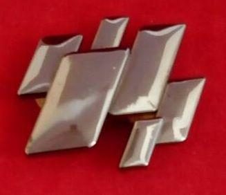 Кнопка К 70102 никель