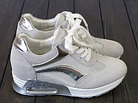 Женские кроссовки Lonza FLM16-3 WHITE 37 23,5 см, фото 1