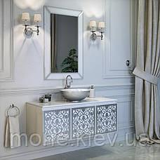 "Комплект мебели в ванную комнату ""Винсент"" (тумба+раковина + зеркало), фото 2"