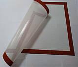 Коврик силиконовый для выпечки 40х60 см (армированный стекловолокном), фото 5