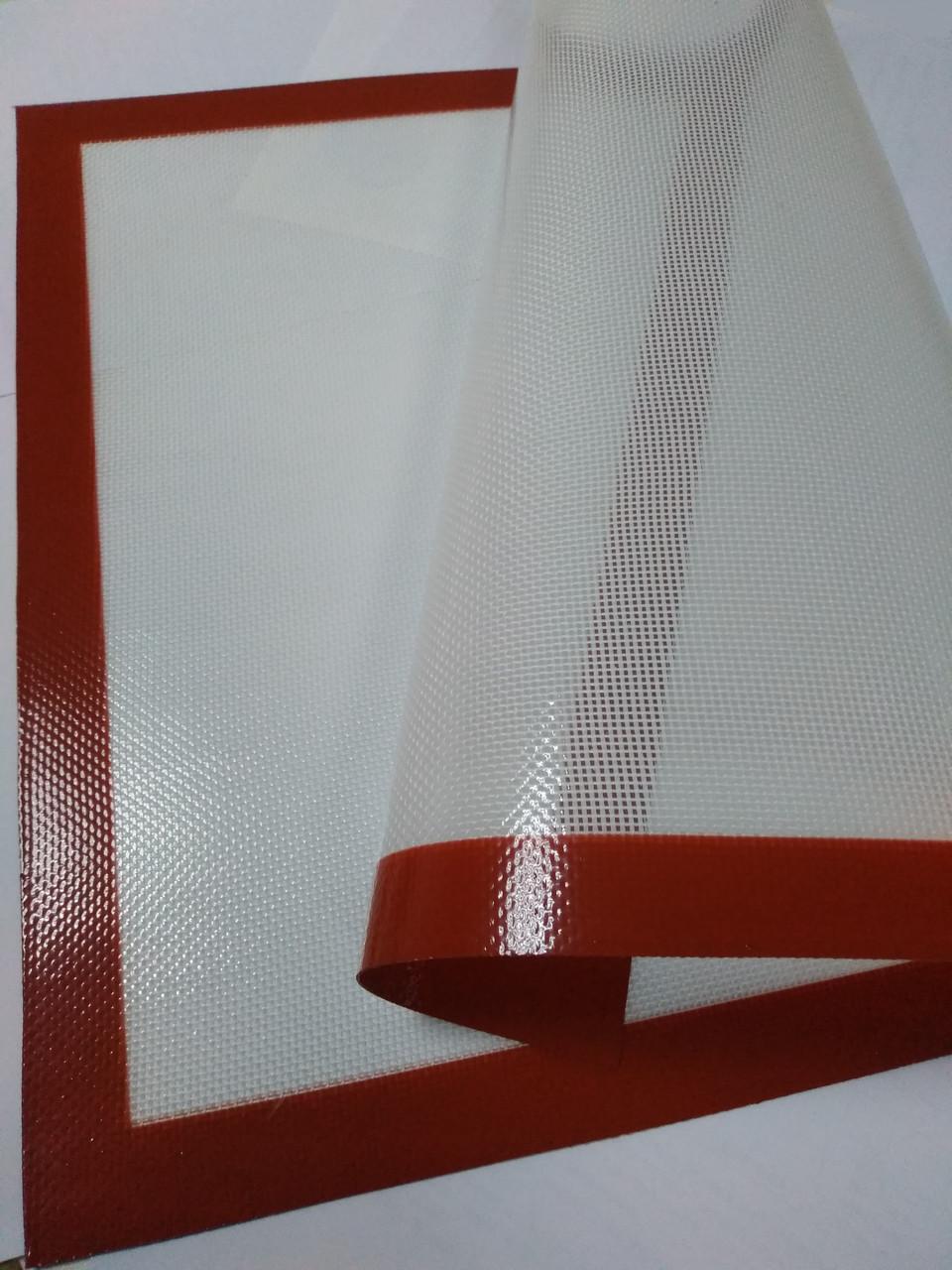 Коврик силиконовый для выпечки 40х60 см (армированный стекловолокном)