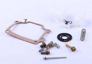 Ремкомплект карбюратора (полный) - 50CC2T /китайский скутер мопед / кутайского скутера мопеда / китайскому скутеру мопеду