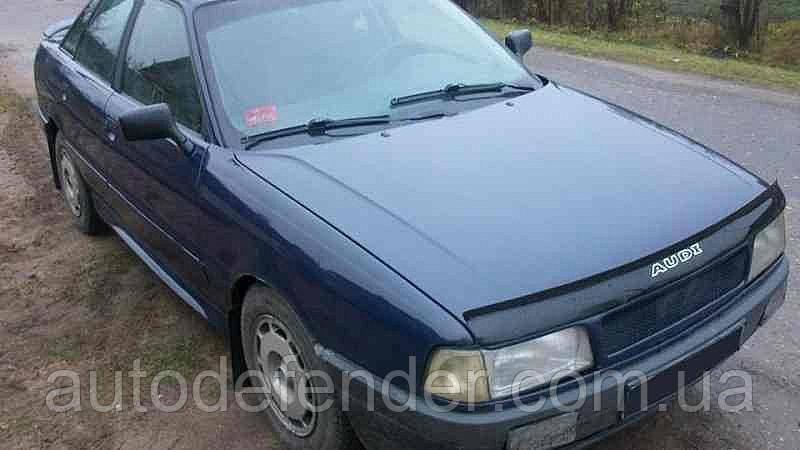 Дефлектор капота (мухобойка) Audi 80 B3 1986-1991, Vip Tuning, AD03