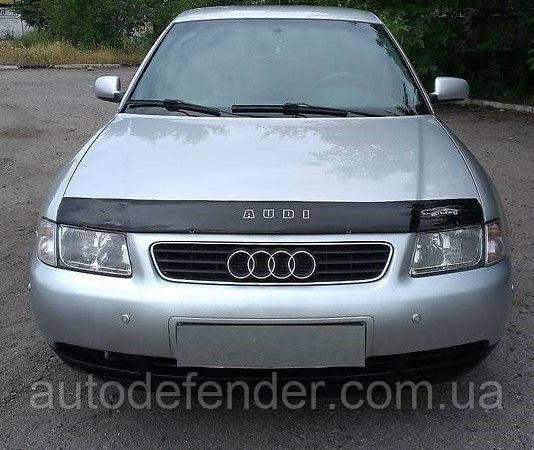 Дефлектор капота (мухобойка) Audi A3 8L 1996-2003, Vip Tuning, AD05