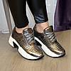 Кроссовки женские на шнуровке, утолщенная подошва. В наличии 38-40 размеры, фото 4