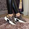 Кроссовки женские на шнуровке, утолщенная подошва. В наличии 38-40 размеры, фото 2