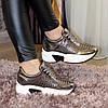 Кроссовки женские на шнуровке, утолщенная подошва. В наличии 38-40 размеры, фото 3