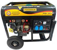 Генератор бензиновый сварочный Forte FG6500EW