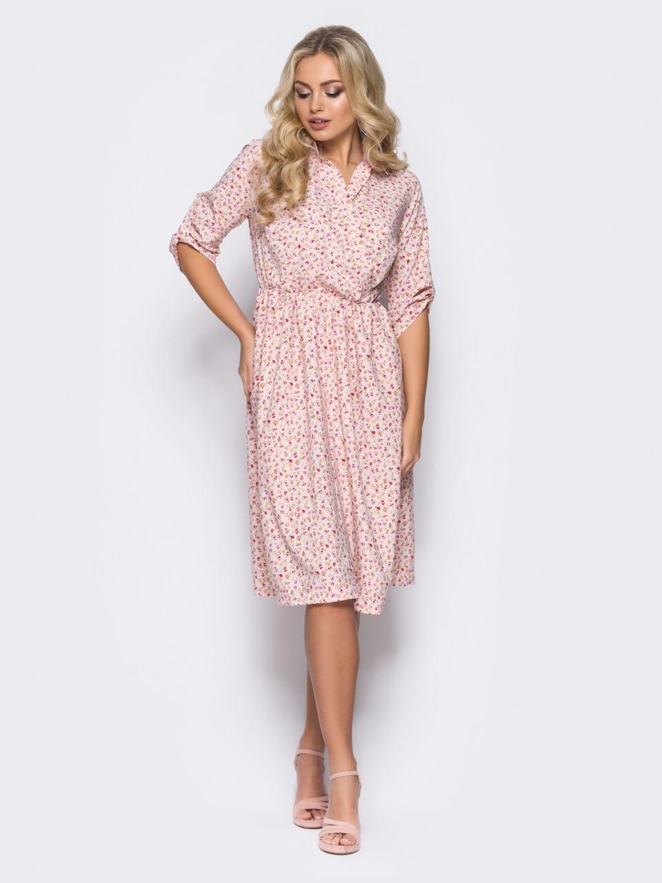 1797089ddfded1 🔘️Летнее платье с лифом на запах / Размер 48-50,52-54 / P28A7B1 ...