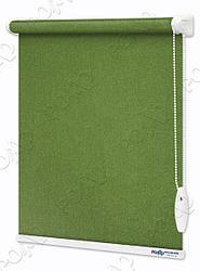 Рулонные шторы Luminis Ярко-зеленые Перламутровые
