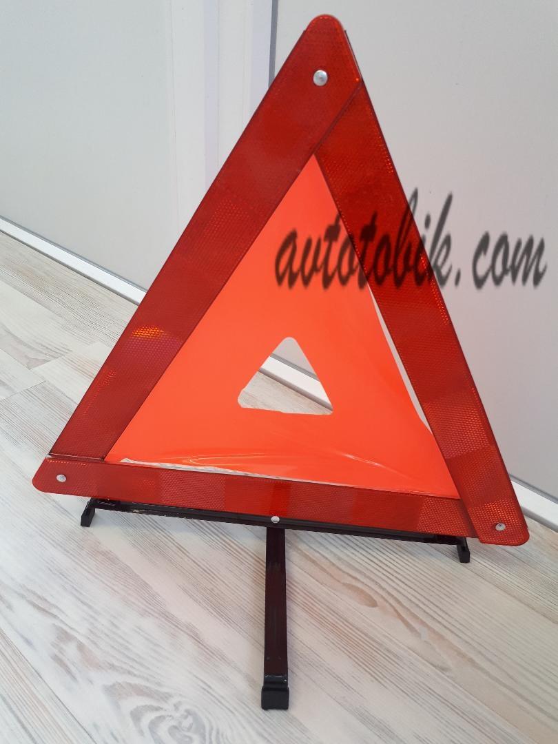 Знак аварийной остановки ЗА 002 Vitol (Витол), пластиковая упаковка