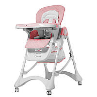 Стульчик для кормления детский CARRELLO Caramel CRL-9501/3 Rose, розовый