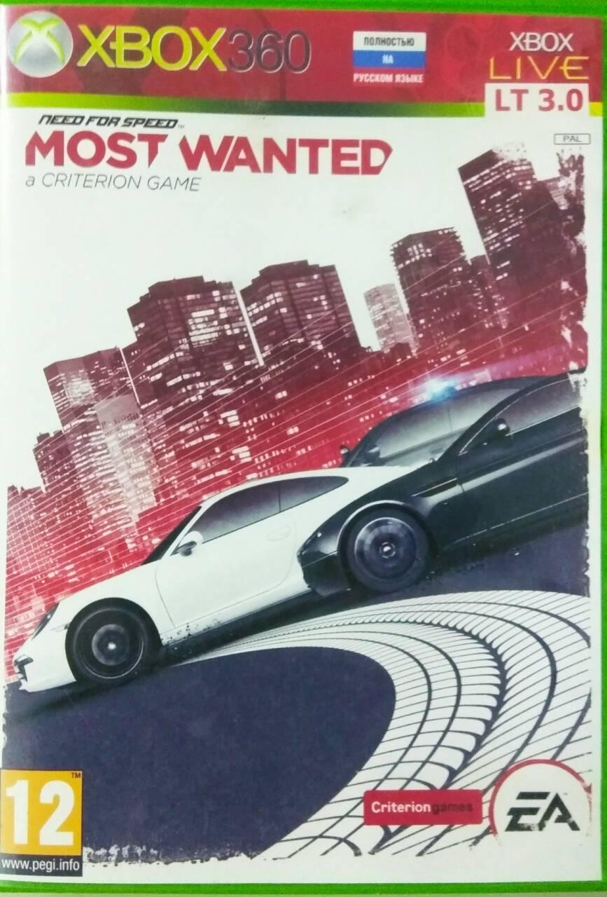 Игры на xbox 360 (Most Wanted, Star Wars, Mortal Kombat, Street Fighter)