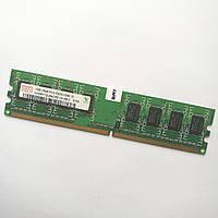 Оперативная память Hynix DDR2 1Gb 667MHz PC2 5300U 1R8 CL5 (HYMP112U64CP8-Y5 AB-C) Б/У, фото 1