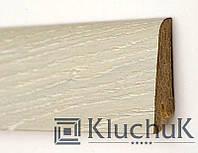 Плинтус Kluchuk Рустик KLR60-04 Дуб Ледяной 60мм